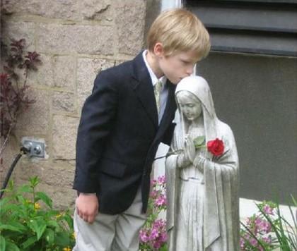 De protestantse jongen die verliefd werd op de Maagd Maria