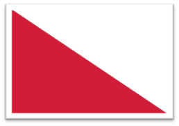Vlag van Utrecht - Sint Maarten