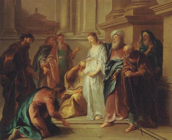 De overspelige vrouw - Katholieke Vesting