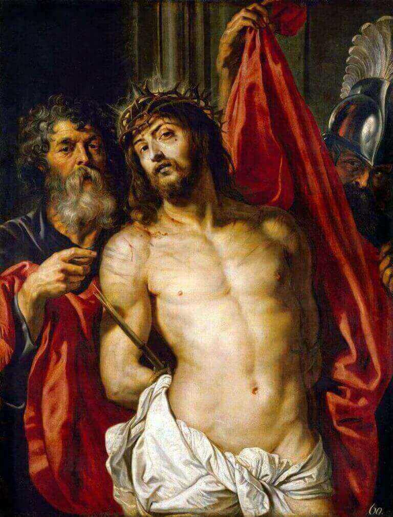 Christus met doornenkroon - Katholieke Vesting