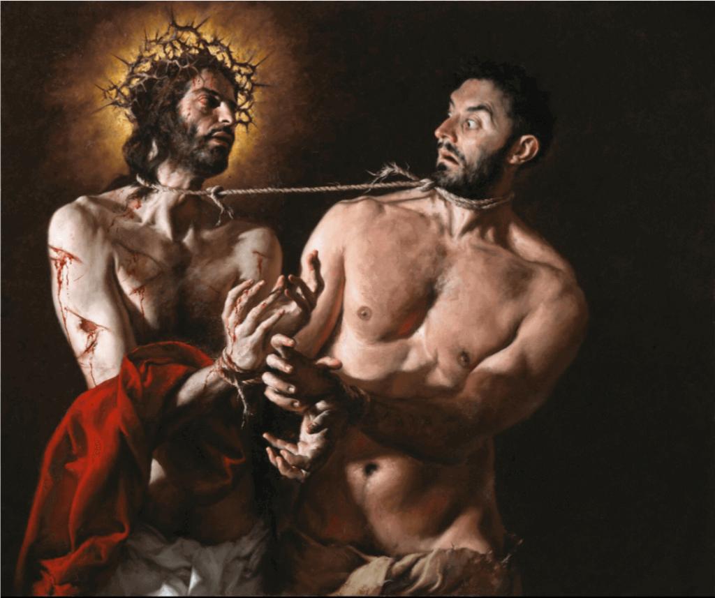 Barabbas en Jezus - Katholieke Vesting
