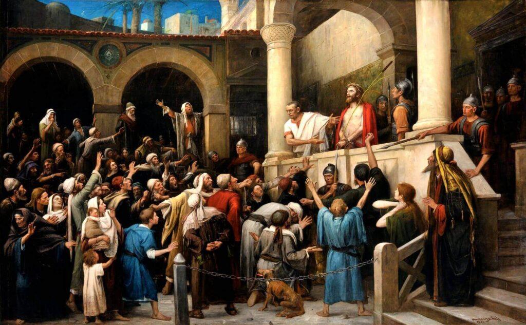Barabbas of Jezus - Katholieke Vesting