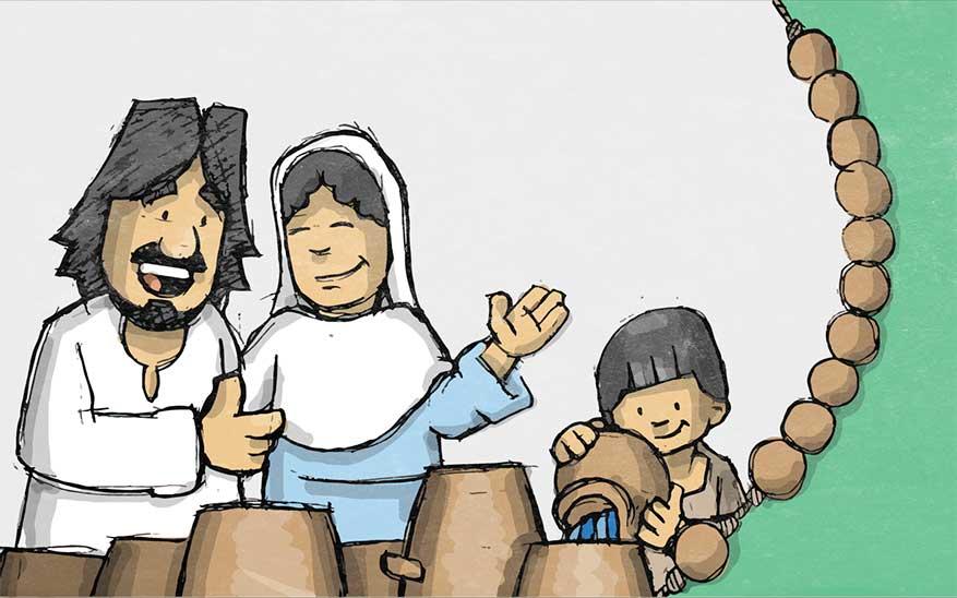 De openbaring van Jezus op de bruiloft van Kana - Geheimen van Licht - Rozenkrans