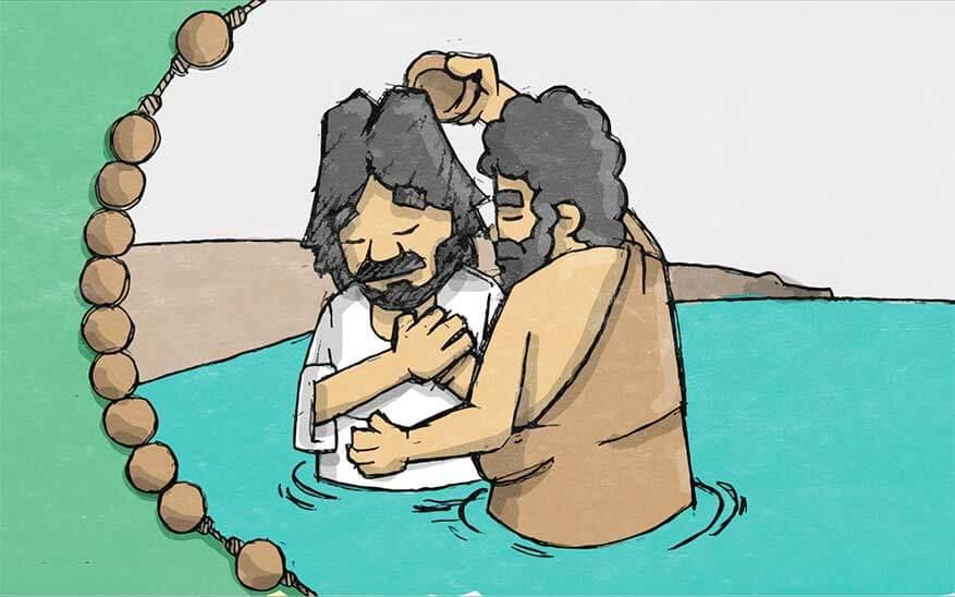 De doop van Jezus in de Jordaan - Geheimen van Licht - Rozenkrans