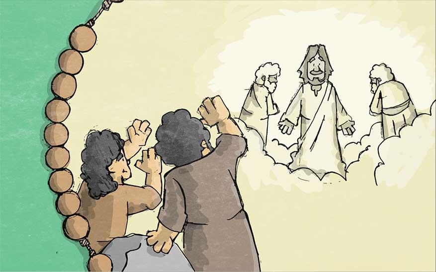De gedaanteverandering van Jezus - Geheimen van Licht - Rozenkrans