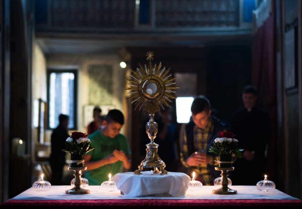 Eucharistische aanbidding