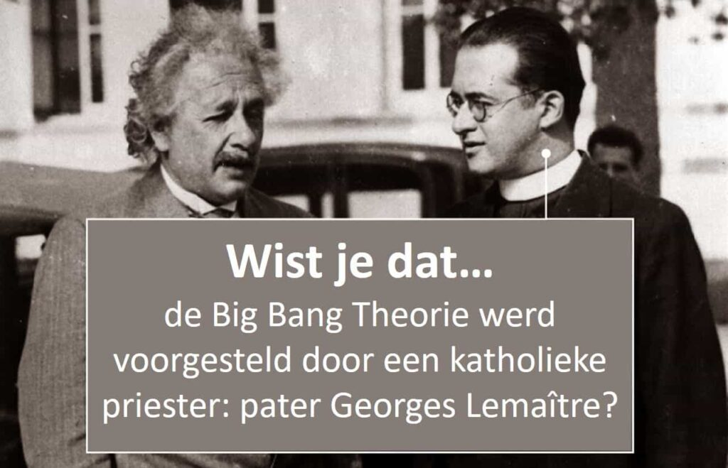 big bang theorie katholieke_kerk